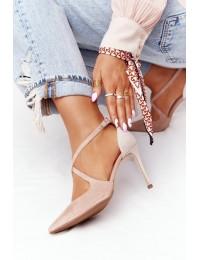Elegantiški aukštakulniai Visconi Pink - 7400TAS/239 WEL 1668