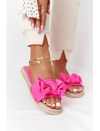 Žavingos šlepetės Pink Andrea - WS9020-46 ROSE RED