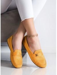 Geltonos spalvos elegantiški mokasinai - B2020-5Y