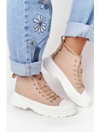 Madingi smėlio spalvos batai Light Brown Trissy - B0-677 KHAKI