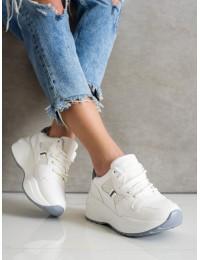 Balti madingi sportinio stiliaus batai kasdienai - Y616W