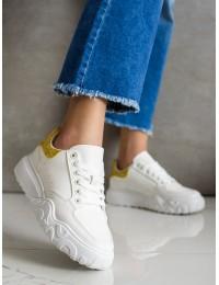 Balti stilingi suvarstomi odiniai bateliai - MM65GO