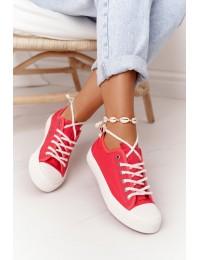 Stilingi aukštos kokybės laisvalaikio bateliai - FF274185 RED