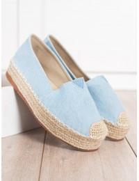 Stilingi džinsiniai batai su platforma\n - BL012L.BL