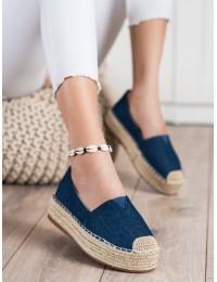 Stilingi džinsiniai batai su platforma\n - BL012BL