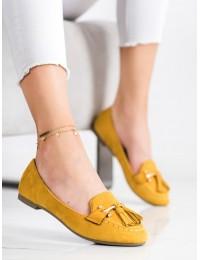 Geltono spalvos bateliai - LL6393Y