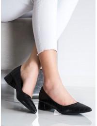 Klasikiniai elegantiški juodos spalvos bateliai - 3845B