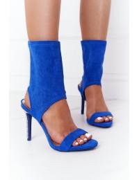 Mėlynos aukštakulnės basutės Lu Boo Blue - D-52 BLUE