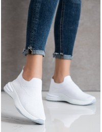 Balti visuomet stilingi patogūs laisvalaikio stiliaus bateliai - 7890-60W