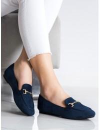Elegantiški mėlynos spalvos mokasinai VINCEZA  - OCA21-2186N