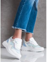 Balti stilingi aukštos kokybės patogūs batai - L8070BL