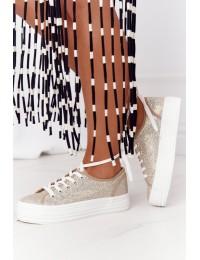 Stilingi batai su platforma Gold Luna  - L09613 GOLD