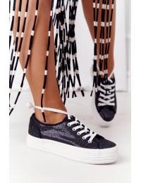 Stilingi batai su platforma Black Luna  - L09613 BLK