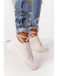 Smėlio spalvos stilingi batai - ZY203-8 BEIGE