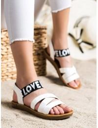 Baltos spalvos stilingos patogios basutės - E1503W