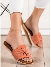 Zomšinės minimalistinio stiliaus šlepetės - YQE21-17122P