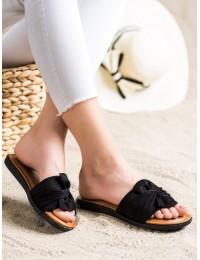 Zomšinės minimalistinio stiliaus šlepetės - YQE21-17122B