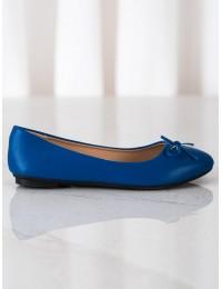 Klasikinio stiliaus elegantiški mėlyni bateliai - 9988-138BL