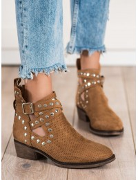 Aukštos kokybės Camel spalvos stilingi batai - NS196C