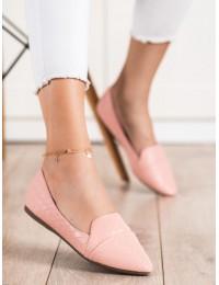 Elegantiški stilingi rožiniai bateliai - CD78L.P