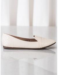 Elegantiški stilingi smėlio spalvos bateliai\n - CD78BE