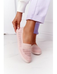 Rožiniai patogūs stilingi bateliai Pink Chillout - CB1711-82 NAKED PINK