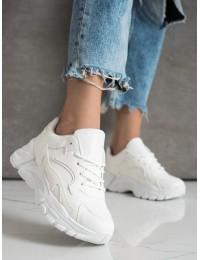 Stilingi aukštos kokybės patogūs balti batai - YL-45W