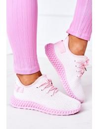 Stilingi patogūs sportinio stiliaus bateliai Light Pink Run Away - NB392P L.PINK