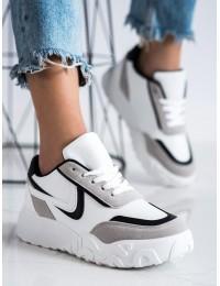 Madingi SNEAKERS modelio batai su platforma - VL126B