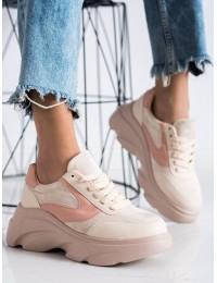 NUDE spalvos madingi batai su platforma - NH-33BE/P