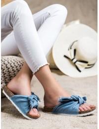 Stilingos džinsinės šlepetės - WS11BL