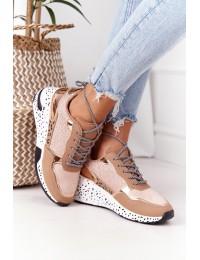 Stilingi patogūs aukštos kokybės batai Champagne Avery - BL215 CHAMPAGNE