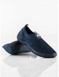 Tamprūs mėlyni patogūs batai neslystančiu padu - C9019AZ