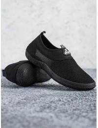 Tamprūs juodi patogūs batai neslystančiu padu\n - C9019NE
