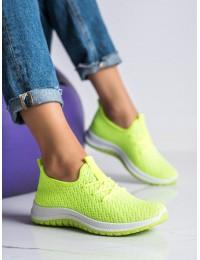 Ryškūs neoninės spalvos laisvalaikio bateliai - BL1817GR