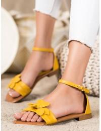 Elegantiškos geltonos spalvos basutės - LT1719Y