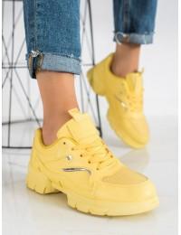 Geltonos spalvos sportinio stiliaus batai - 3158Y