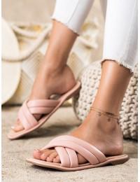 Rožinės elegantiškos šlepetės - 8998-48P