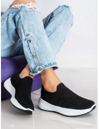 Juodi stilingi patogūs batai - 7890-19B
