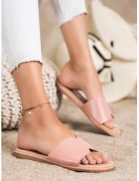 Rožinės elegantiškos šlepetės - 395P