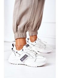 Women's Sport Shoes Big Star GG274213 White-Grey - GG274213 WHITE/GREY