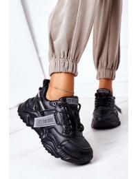 Madingi aukštos kokybės Big Star sportinio stiliaus batai - GG274215 BLACK/GREY