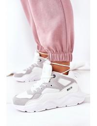 Madingi aukštos kokybės Big Star sportinio stiliaus batai - GG274643 WHITE
