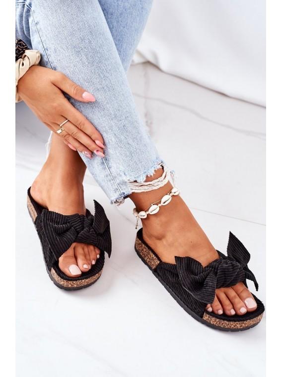 Stilingos patogios šlepetės Black Summertime - DZ116 BLACK