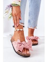 Stilingos patogios šlepetės Pink Summertime - DZ116-11 PINK