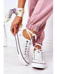Women's Leather Sneakers BIG STAR II274001 White - II274001 WHITE