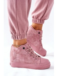 Stilingi aukštos kokybės Big Star batai su platforma - II274092 PINK