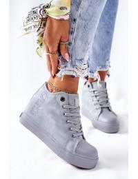 Stilingi aukštos kokybės Big Star batai su platforma - II274094 BLUE