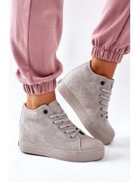 Stilingi aukštos kokybės Big Star batai su platforma - II274093 GREY