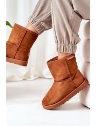 Rudi aukštos kokybės Cross Jeans žieminiai batai - EE1R4028C BROWN